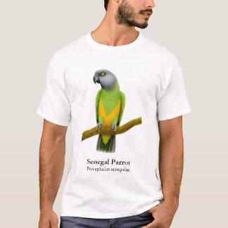De T-shirt van de Papegaai van Senegal