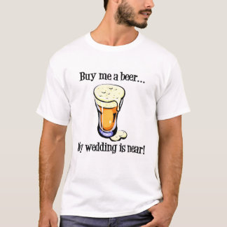 De t-shirt van de Partij van de Vrijgezel van de
