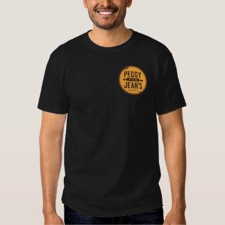 De T-shirt van de Pastei van Peggy Jean's (Mannen