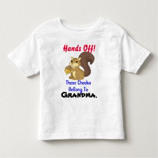 De T-shirt van de Peuter van de eekhoorn