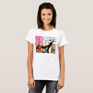 De T-shirt van de Pret van het boerenerf