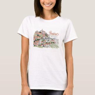 De t-shirt van de Provence Gordes