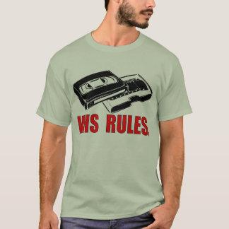 De T-shirt van de Regels van VHS