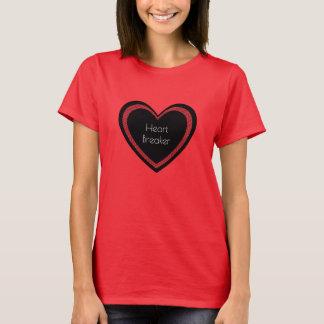 De T-shirt van de Rode en Zwarte   Vrouwen van