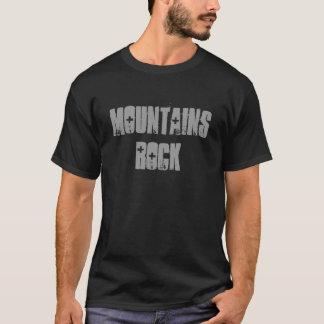 De T-shirt van de Rots van bergen