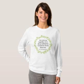 De T-shirt van de solidariteit
