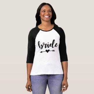 De T-shirt van de Stam van de bruid voor Bruid