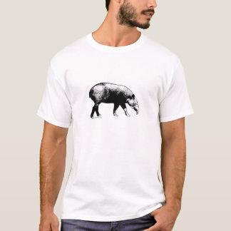 De T-shirt van de tapir