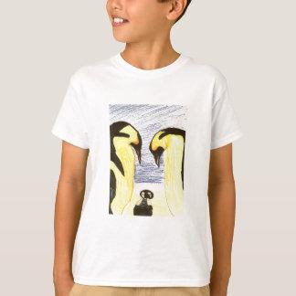 De T-shirt van de Tekening van de Familie van de