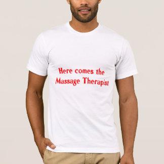 De T-shirt van de Therapeut van de massage