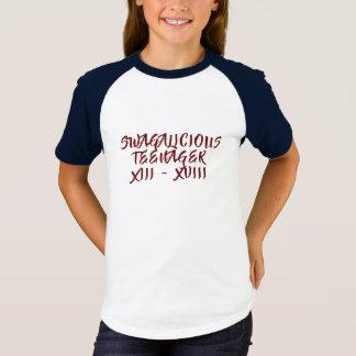 De T-shirt van de Tiener van Swagalicious