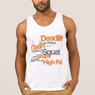 De T-shirt van de Training van de gymnastiek