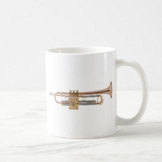 De t-shirt van de trompet koffiemok