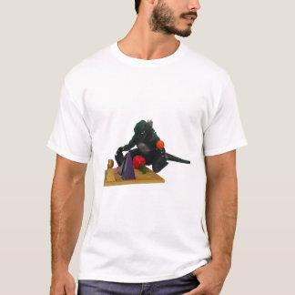 De T-shirt van de Vaste lichamen van Montessaurus