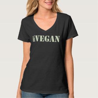 De T-shirt van de Veganist van 100%