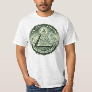 De T-shirt van de Verbinding van NOW Illuminati