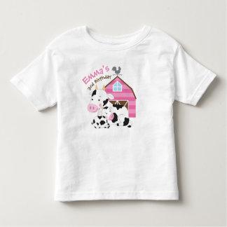 De T-shirt van de Verjaardag van het Meisje van
