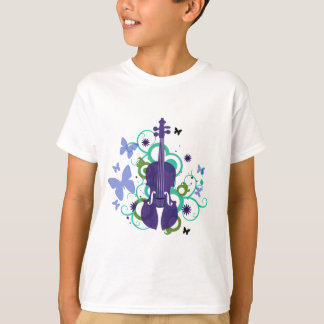 De T-shirt van de Viool van de hemel