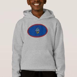 De T-shirt van de Vlag van Guam Gnarly