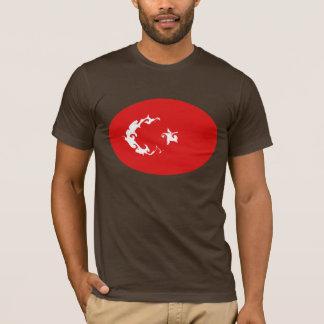 De T-shirt van de Vlag van Turkije Gnarly