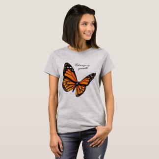 De T-shirt van de Vlinder van de mandarijn