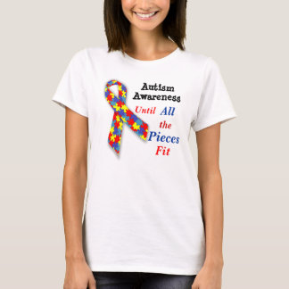 De t-shirt van de Voorlichting van het autisme tot