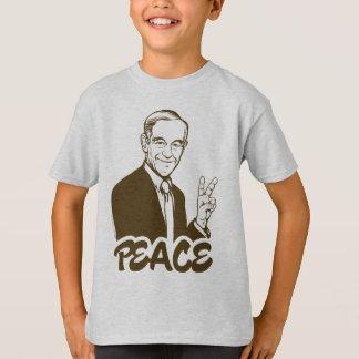 De T-shirt van de Vrede van Ron Paul