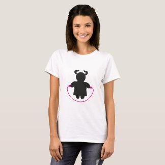De T-shirt van de Vrouw ` s van het springtouw
