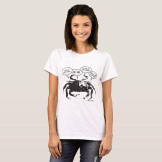 De T-shirt van de Vrouwen van de Krab van Boston