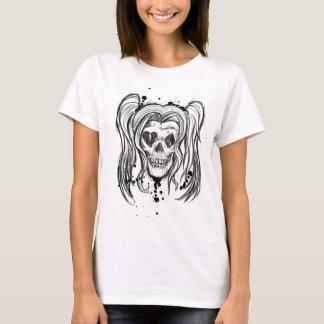 De T-shirt van de Vrouwen van de Schedel van het