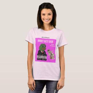 """De T-shirt van de Vrouwen van Hillyard """"KRIJG geen"""