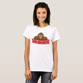 De T-shirt van de Vrouwen van senor-Squatch