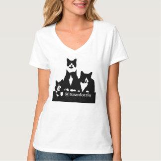De T-shirt van de Vrouwen van TuxedoTrio