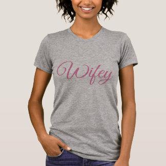 De T-shirt van de Vrouwen van Wifey