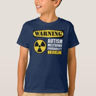 De T-shirt van de Waarschuwing van de Afsmelting