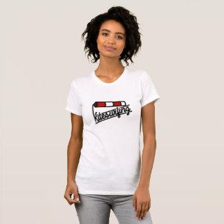De T-shirt van de Wind van Kitesurf