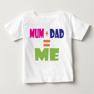 De T-shirt van de Wiskunde van het baby