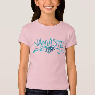 De T-shirt van de Yoga van Namaste voor Kind