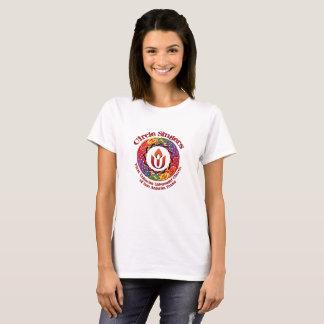 De T-shirt van de Zangers van de cirkel