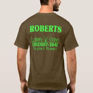 De T-shirt van de Zorg van het gazon
