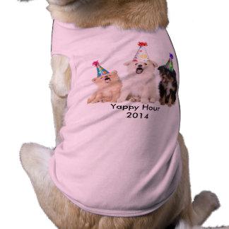 De T-shirt van Doggie van het Meisje van het Uur