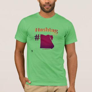 De T-shirt van Egypte van Hashtag