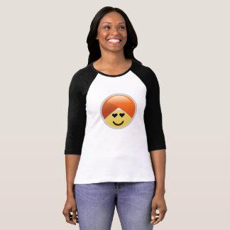 De T-shirt van Emoji van de Tulband van de Ogen