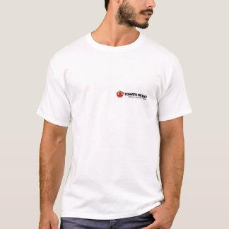 De T-shirt van Geeks van de tomaat