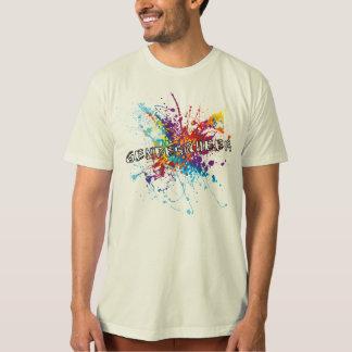 De T-shirt van Genderqueer van de Plons van de