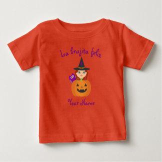 """De T-shirt van Halloween van de """"Gelukkige Heks"""""""