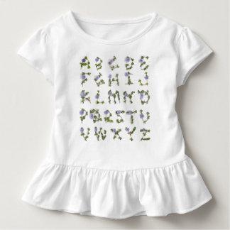 De T-shirt van het Alfabet van de wijnstok