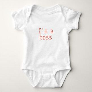 De T-shirt van het BABY ben ik een werkgever