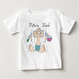 De t-shirt van het baby/Toekomstige Nerd/Jongen