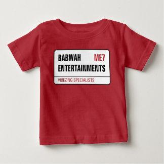 De t-shirt van het Baby van Babwah